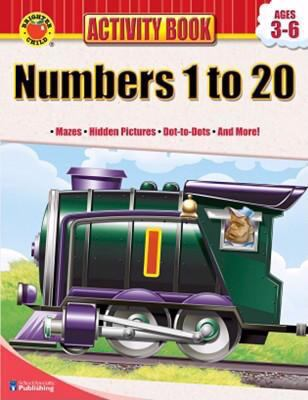 Brighter Child Numbers 1 to 20 Activity Book