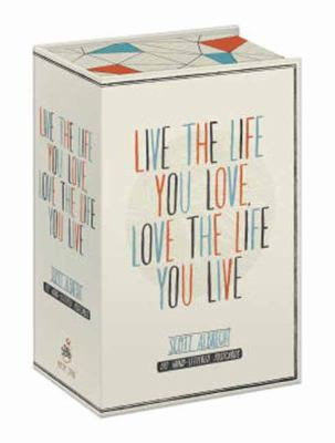 Live the Life You Love Postcard Box : 100 Hand-Lettered Postcards