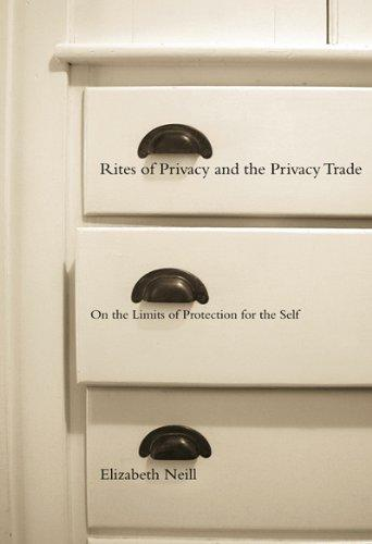 Rites of Privacy and the Privacy Trade: On the Limits of Protection for the Self