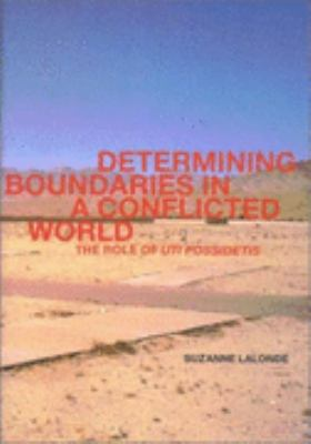 Determining Boundaries in a Conflicted World The Role of Uti Possidetis
