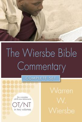Wiersbe Bible Commentary 2 Volume Set With Cd-rom