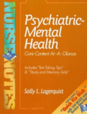Psychiatric-Mental Health: Core Content At-A-Glance