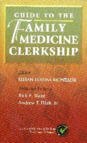 Guide to the Family Medicine Clerkship