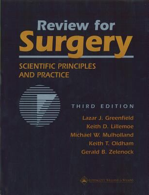 Review for Surgery Scientific Principles and Practice
