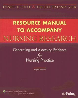 Resource Manual to Accompany Nursing Research
