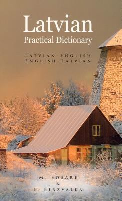 Latvian-English English-Latvian Dictionary