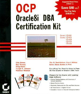 Ocp Oracle8I Dba Certification Kit Study Guide