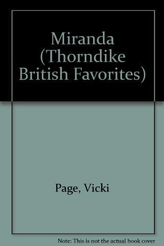 Miranda (Thorndike British Favorites)