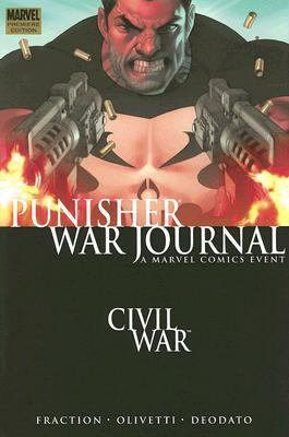 Punisher War Journal 1 Civil War Premiere