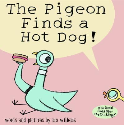 Pigeon Finds a Hot Dog