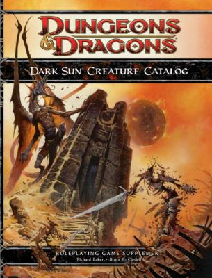 Dark Sun Creature Catalog (4th Edition D&D)