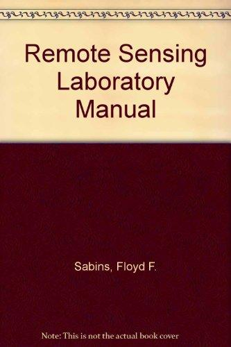 Remote Sensing Laboratory Manual