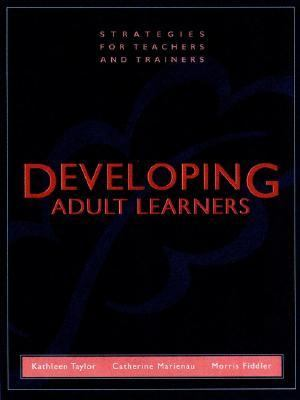 Adult developing learner strategy teacher trainer