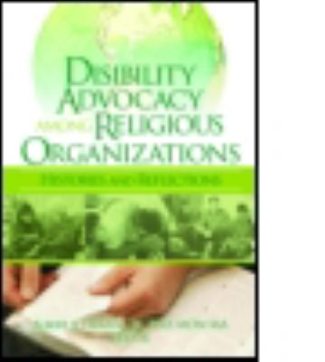 Disability Advocacy Among Religious Organizations