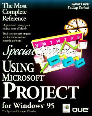 Special Edition Using Microsoft Project - Tim Pyron - Hardcover - REV