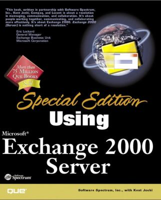 Special Edition Using Microsoft Exchange 2000 Server
