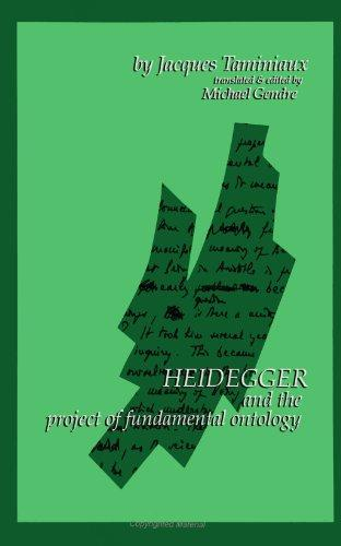 Heidegger and the Project of Fundamental Ontology (S U N Y Series in Contemporary Continental Philosophy)