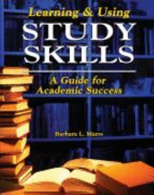 Learning and Using Study Skills