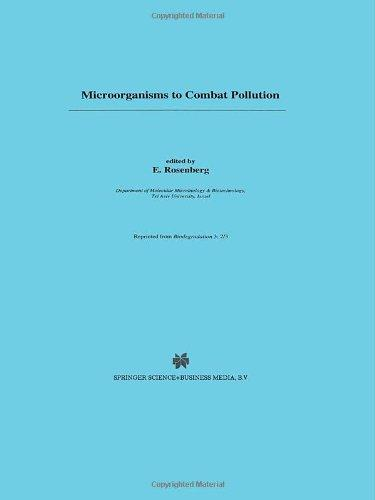 Microorganisms to Combat Pollution