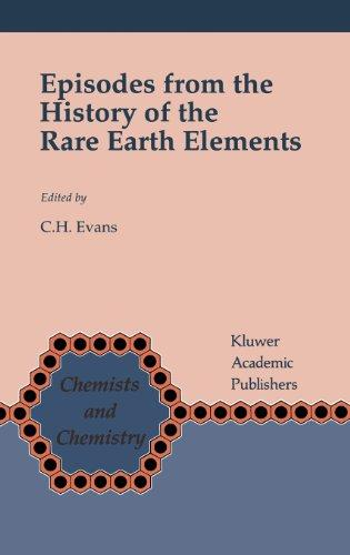 Episodes from the History of the Rare Earth Elements (Chemists and Chemistry)