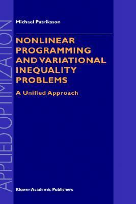 Nonlinear Programming and Variational Inequality Problems A Unified Approach