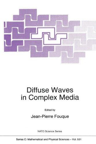 Diffuse Waves in Complex Media (NATO Science Series C: (closed))