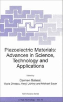 Piezoelectric Materials Advances in Science, Technology and Applications May, 1999
