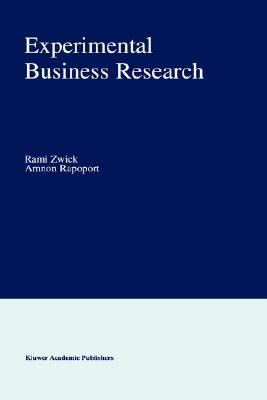 Experimental Business Research