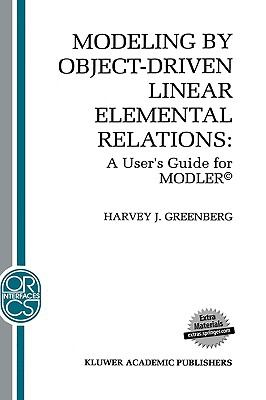 Modeling by Object-Driven Linear Elemental Relations A User's Guide for Modler