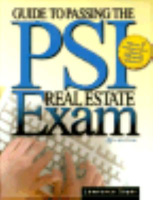 Guide to Passing the Psi Real Estate Exam - Sager, Lawrence pdf epub