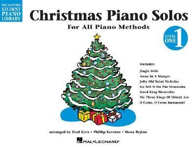 Christmas Piano Solos Book 1 HLSPL (Hal Leonard Student Piano Library (Songbooks))