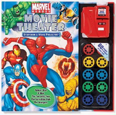 Marvel Heroes Movie Theater Storybook