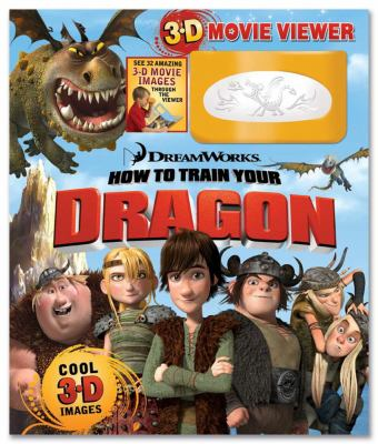 How to Train Your Dragon Storybook and 3D Viewer (DreamWorks 3-D)