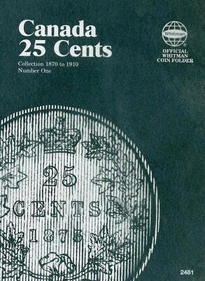 Canada 25 Cents Vol1 1870-1910