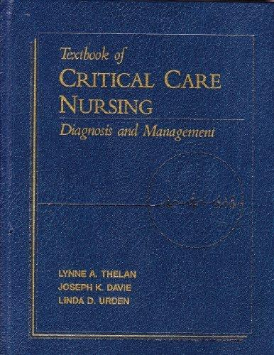Textbook of Critical Care Nursing: Diagnosis and Management/Quick Critical Care Reference