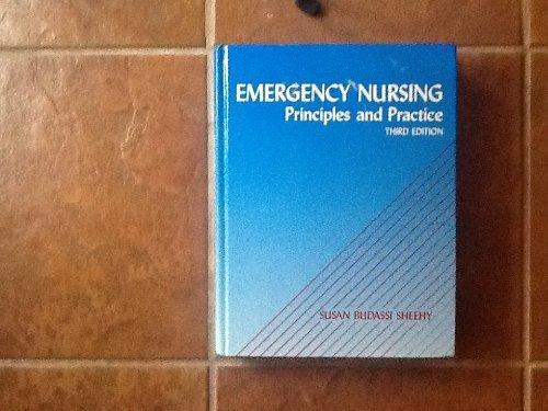 Emergency Nursing: Principles and Practice