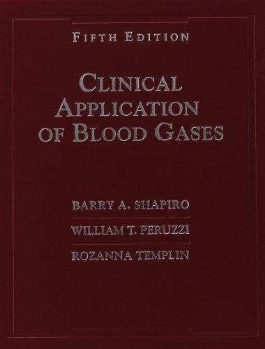 Clinical Application of Blood Gases