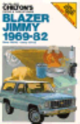 Blazer and Jimmy, 1969-1982 - Chilton Book Co - Paperback