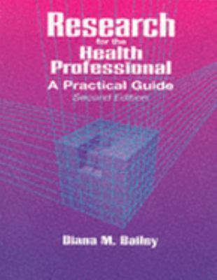 Research for the Health Professional A Practical Guide