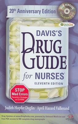 Davis's Drug Guide for Nurses with CD-ROM
