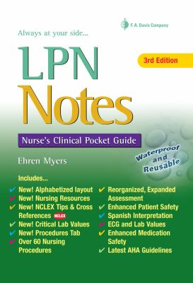 LPN Notes: Nurse's Clinical Pocket Guide (Davis's Notes Book)