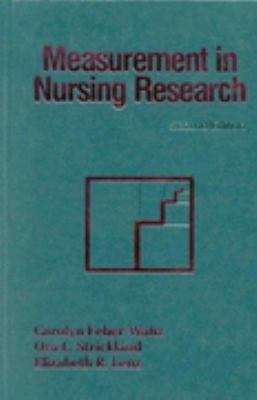 MEASUREMENT IN NURSING RESEARCH
