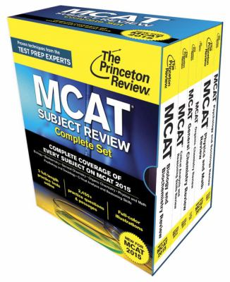 Princeton Review MCAT Subject Review Complete Set : New for MCAT 2015