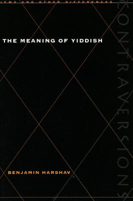 Meaning of Yiddish