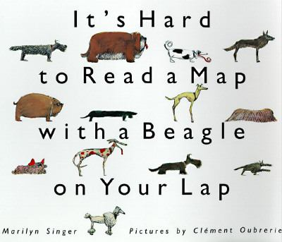 It's Hard to Read a Map with a Beagle on Your Lap - Marilyn Singer - Paperback - REPRINT