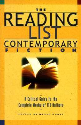 Reading List Contemporary Fiction A Critical Guide to the Complete Works of 110 Authors