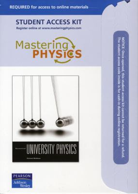 Mastering Physics Student Access Kit