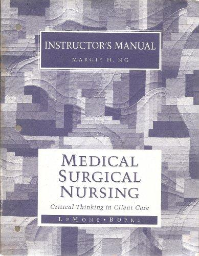 Instructors Manual to Medical Surgical Nursing