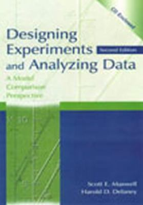 Designing Experiments and Analyzing Data A Model Comparison Perspective