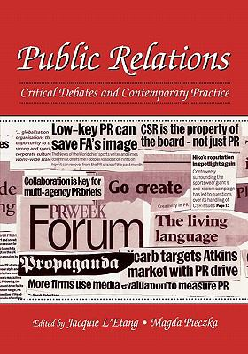 Public Relations Critical Debates And Contemporary Problems - Pieczka, Magda pdf epub